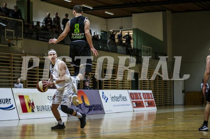 Basketball, 2.Bundesliga, Grunddurchgang 9.Runde, Mattersburg Rocks, Basket Flames, Philipp GERM (12)