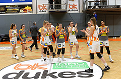 Basketball Damen Superliga 20120/21, Grunddurchgang 14.Runde BK Duchess vs. Basket Flames