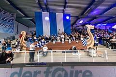 Basketball, CUP 2017 , Finale, Oberwart Gunners, Kapfenberg Bulls, Wikinger Schiff