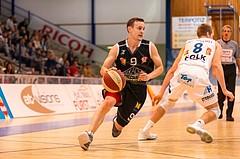 Basketball, ABL 2017/18, Grunddurchgang 5.Runde, Oberwart Gunners, Traiskirchen Lions, Benedikt Danek (9)