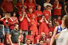 Basketball ABL 2015/16 Playoff Finale Spiel 3 WBC Wels vs Gunners Oberwart