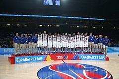 Eurobasket Bronce Medal Game Team Serbia vs. Team France