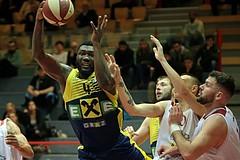 14.03.2019 Basketball ABL 2018/19 Gruunddurchgang 28.Runde Traiskirchen Lions vs UBSC Graz