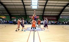 Basketball 2.Bundesliga 2017/18, Grundurchgang 1.Runde D.C. Timberwolves vs. Basket 2000