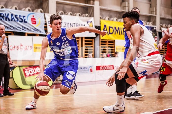 Basketball, ABL 2018/19, CUP Achtelfinale, UBC St. Pölten, Oberwart Gunners, Stefan Blazevic (13)