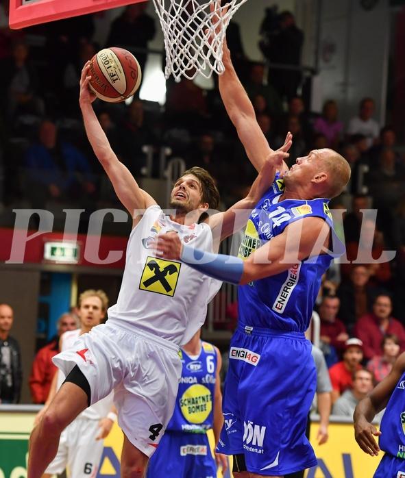Basketball ABL 2016/17 Grunddurchgang 1. Runde WBC Wels vs Basket Swans Gmunden