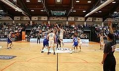 Basketball Basketball Superliga 2019/20, Grunddurchgang 7.Runde Kosterneuburg DUkes vs. Oberwart Gunners