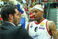 Basketball ABL 2012-13 Snickers-Playoffs Fnale 5.Spiel BC Vienna vs. Oberwart Gunners
