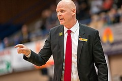 Basketball, CUP 2017 , 1/2 Finale, WBC Wels, Kapfenberg Bulls, Mike Coffin (Headcoach)