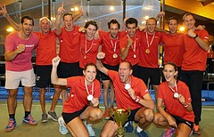 Racketlon Europameisterschaft Winner Team Austria