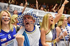 Basketball ABL 2015/16 Playoff Finale Spiel 3 WBC Wels vs Gunners Oberwart