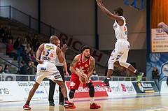 Basketball ABL 2015/16 Grunddurchgang 26.Runde Oberwart Gunners vs. BC Vienna