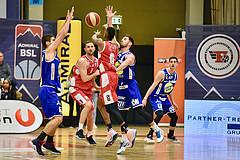 Basketball Superliga 2019/20,  1.Plazierungsrunde Flyers Wels vs. Gmunden Swans