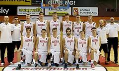 Basketball FIBA U18 European Championship Men 2015 DIV B Team Austria vs. Team Denmark
