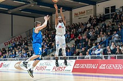 Basketball, ABL 2016/17, CUP VF, Oberwart Gunners, UBSC Graz, Christopher McNealy (8)