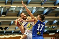Basketball ABL 2017/18, Grunddurchgang 6.Runde Gmunden Swans vs. UBSC Graz
