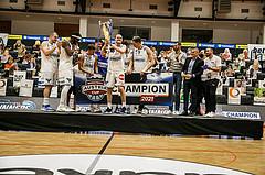 Basketball, Basketball Austria Cup 2020/21, Finale, Oberwart Gunners, Gmunden Swans, Basketball Austria Cupsieger 2020/21