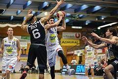 Basketball ABL 2017/18, Grunddurchgang 25.Runde Gmunden Swans vs. Traiskirchen Lions
