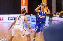 Basketball, ABL 2016/17, Grunddurchgang 18.Runde, BC Vienna, Oberwart Gunners, Georg Wolf (10)