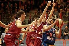 Basketball ABL 2015/16 Grunddurchgang 21.Runde Traiskirchen Lions vs. Kapfenberg Bulls