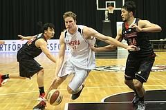 Basketball ÖBV Nationalteam Herrn Team Austria vs. Team Japan