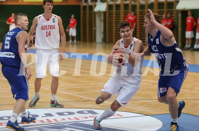 Basketball FIBA U18 European Championship Men 2015 DIV B Team Austria vs. Team Estonia