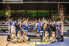 Basketball, Basketball Austria Cup 2019/20, Finale, Kapfenberg Bulls, Klosterneuburg Dukes, Sieger Basketball Austria Cup 2019/20: Kapfenberg Bulls