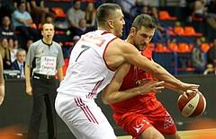 Basketball ABL 2015/16 Grunddurchgang 11.Runde BC Vienna vs. WBC Wels