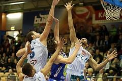 Basketball ABL 2015/16 Grunddurchgang 20.Runde Kapfenberg Bulls vs Gmunden Swans