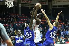 Basketball ABL 2016/17, Grunddurchgang 18.Runde BC Vienna vs. Oberwart Gunners