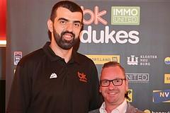 Basketball BSL 2019/20, Pressekonferenz BK IMMOunited Dukes vs.