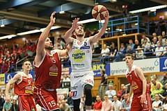 Basketball ABL 2018/19, Playoff VF Spiel 5 Gmunden Swans vs. Traiskirchen Lions