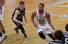 Basketball ABL 2017/18, Grunddurchgang 21.Runde BC Vienna vs. Traiskirchen Lions