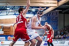 Basketball, ABL 2018/19, Grunddurchgang 1.Runde, Oberwart Gunners, BC Vienna, Renato Poljak (16)