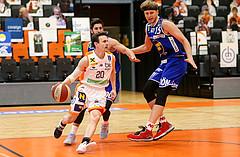 Basketball Superliga 20120/21, Grunddurchgang 10.Runde Klosterneuburg Dukes vs. Gmunden Swans