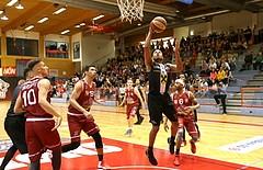 Basketball ABL 2017/18, Grunddurchgang 6.Runde Traiskirchen Lions vs. Flyers Wels