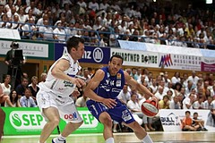26.05.2011 Basketball ABL 2010/11 Finale Spiel 5 Gmunden Swans vs. Oberwart Gunners