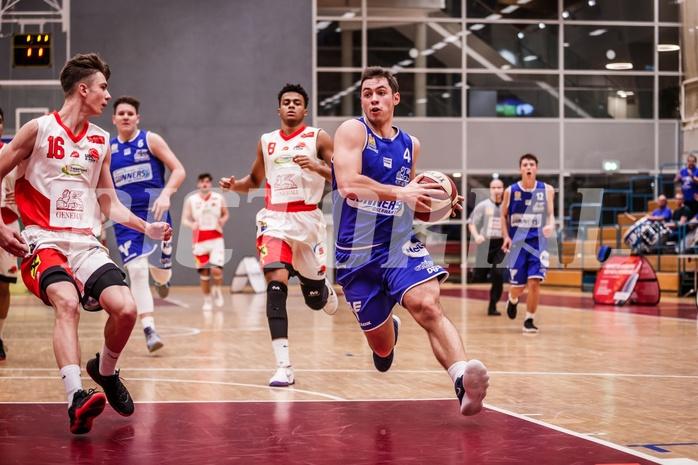 Basketball, ABL 2018/19, CUP Achtelfinale, UBC St. Pölten, Oberwart Gunners, Jakob Szkutta (4)