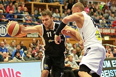 Basketball ABL 2015/16 Grunddurchgang 15.Runde Gmunden Swans vs. BK Dukes Klosterneuburg