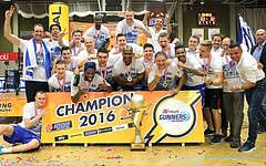 Basketball ABL 2015/16 Playoff Finale Spiel 3 WBC Wels vs. Oberwart Gunners
