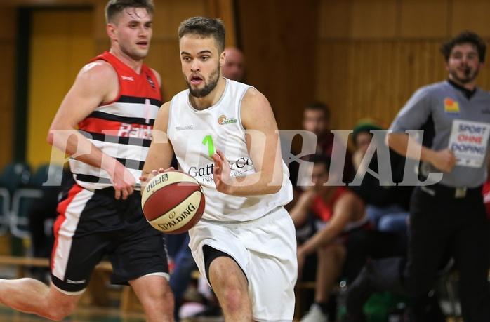 Basketball 2.Bundesliga 2018/19, Grunddurchgang 14.Runde Basketflames vs. Villach Raiders