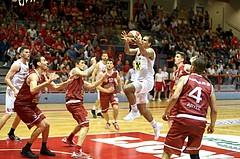 Basketball ABL 2015/16 Playoff Halbfinale Spiel 4 Traiskirchen Lions vs. WBC Wels