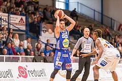 Basketball ABL 2015/16 Playoff Viertelfinale Spiel 1 Oberwart Gunners vs. Gmunden Swans