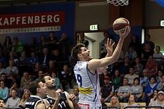 01.05.2017 Basketball ABL 2016/17 1 Viertelfinale Kapfenberg bulls vs Traiskirchen Lions