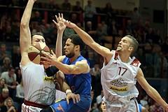 10.03.2019 Basketball ABL 2018/19 Grunddurchgang 27.Runde Traiskirchen Lions vs Kapfenberg Bulls