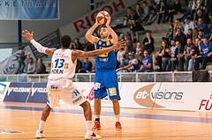 Basketball, ABL 2016/17, CUP VF, Oberwart Gunners, UBSC Graz, Marin Sliskovic (10)