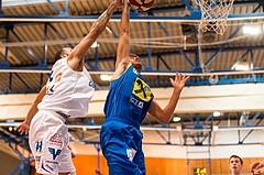 Basketball, ABL 2017/18, Grunddurchgang 2.Runde, Oberwart Gunners, UBSC Graz, David Heuberger (16)