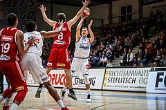 Basketball, Admiral Basketball Superliga 2019/20, Grunddurchgang 14.Runde, Oberwart Gunners, BC Vienna, Edi Patekar (9)