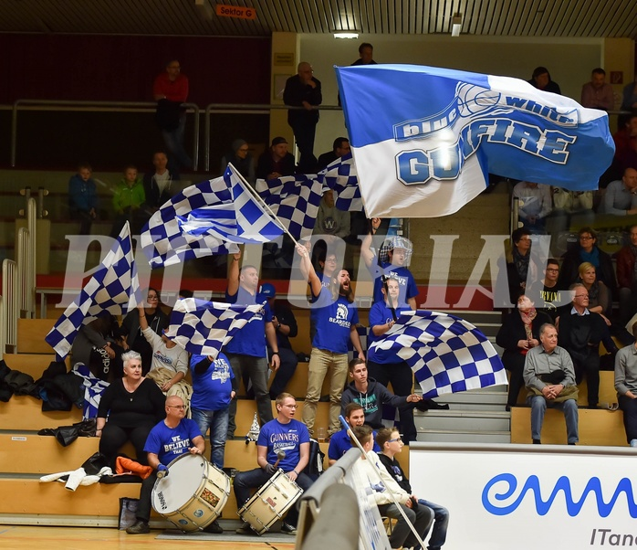Basketball ABL 2015/16 Grunddurchgang 25. Runde WBC Wels vs Gunners Oberwart