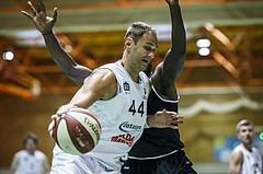 Basketball, Basketball Zweite Liga, Grunddurchgang 1.Runde, COLDA MARIS BBC Nord Dragonz, Swarco Raiders Tirol, Fuad Memcic (44)